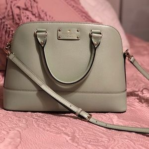 Kate Spade mint/blue purse